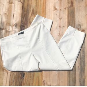 St. John   High Waist Cropped Ankle Pants size 12